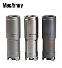 MecArmy X1S CREE USB Rechargeable 10180 Flashlight Titanium