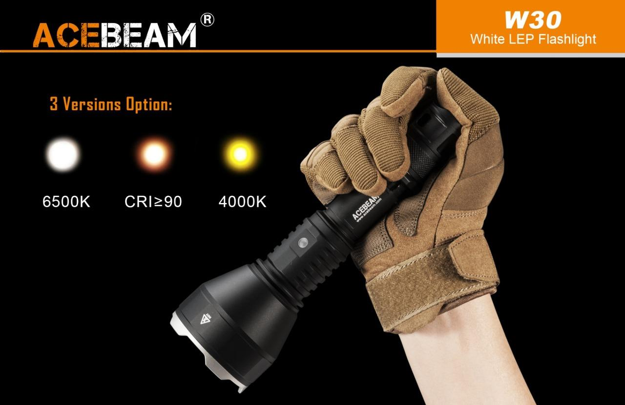 Acebeam W30 Lep 500lm 2408m Usb Rechargeable 21700 Laser