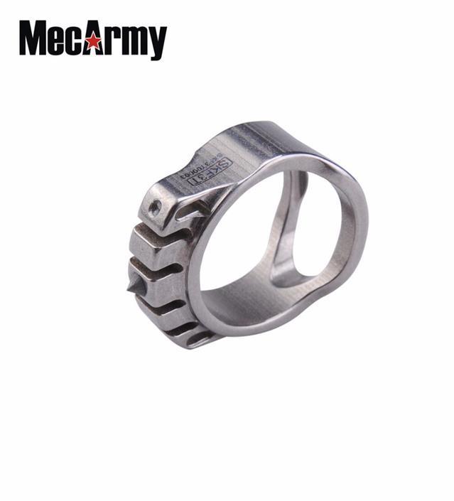 Mecarmy Skf3t Dual Tritium Glass Breaker Tungsten Strike