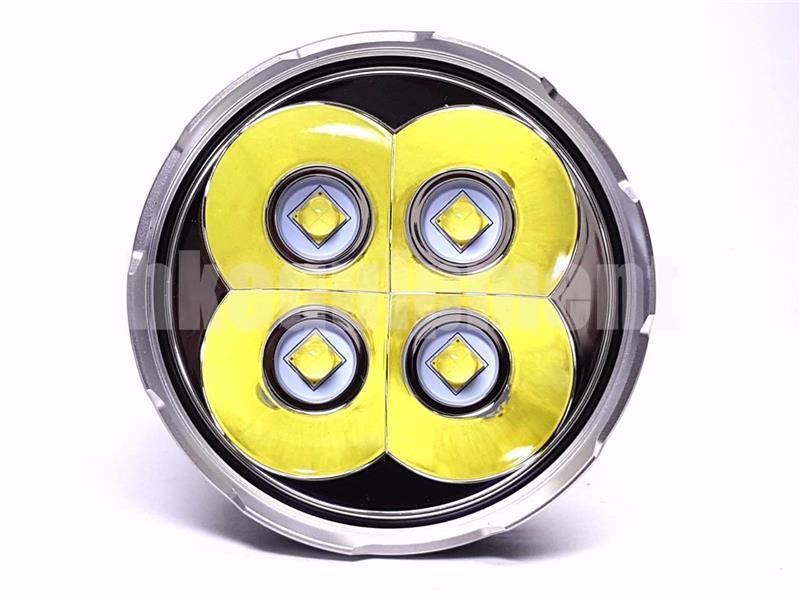 ACEBeam X45 4x Cree XHP70.2 LED Flashlight with IMR18650