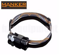 MANKER E03H LED Magnetic Cap Headlight+White Red Green Diffuser