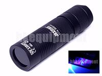 JAXMAN U1s Cree UV Ultraviolet 365nm 18350 3w Money Checker Flashlight
