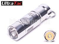 UltraTac K18 Mini LED USB Rechargeable Keychain Flashlight