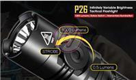 NiteCore P26 Cree XP-L HI v3 1000lm Tactical LED 18650 CR123A Flashlight