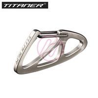 TITANER Titanium Wings Carabiner Snap Hook Keyring Keychain TKG-04 GR5 Ti