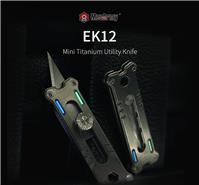 MecArmy EK12 Titanium Mini Multi Tools with OLFA Japan Blade