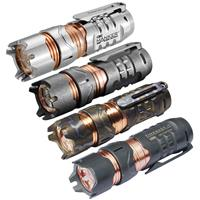 MANKER TimeBack II Ti Titanium 4x Cree XP-G3 2200lm LED Spinner Flashlight