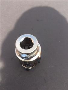 cciyu Black Steering joints 3//4 DD x Ford Triangle U-Joint Shaft