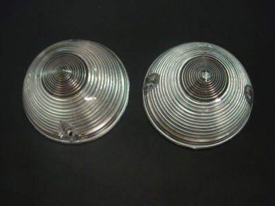 1955 1956 1957 Chevy Truck Parking Lamp Lens SET Clear | eBay