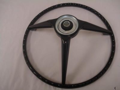 1967 Ford Mustang Steering Wheel (Black) 67