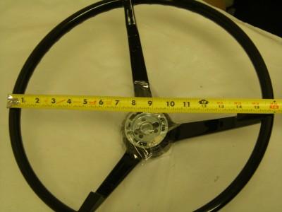 1965 1966 1967 1968 Ford Mustang Steering Wheel (black)