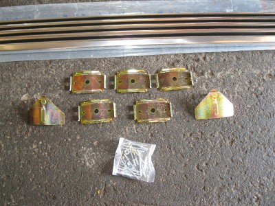 1964 65 66 Mustang Rocker Panel Moulding w/ Clips RH