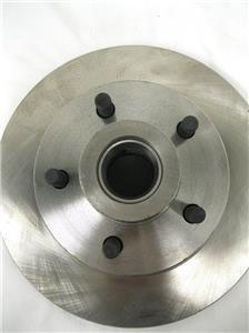 "Mopar Plain 11/"" Front Disc Brake Rotors 5/"" x 4.5/"" Bolt Pattern Dodge Chrysler"