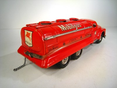 Friction 1952 Ford F6 Mobil Gas Tank Truck 9 Excl With Original Box