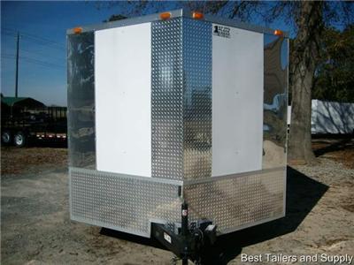 5x16 Enclosed Cargo Motorcycle Car Hauler Trailer NEW