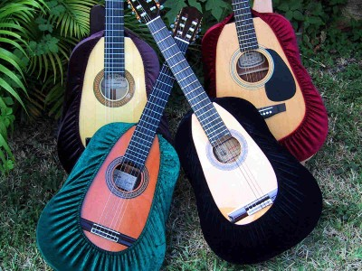 2 classical flamenco acoustic guitar cover best protector black ebay. Black Bedroom Furniture Sets. Home Design Ideas