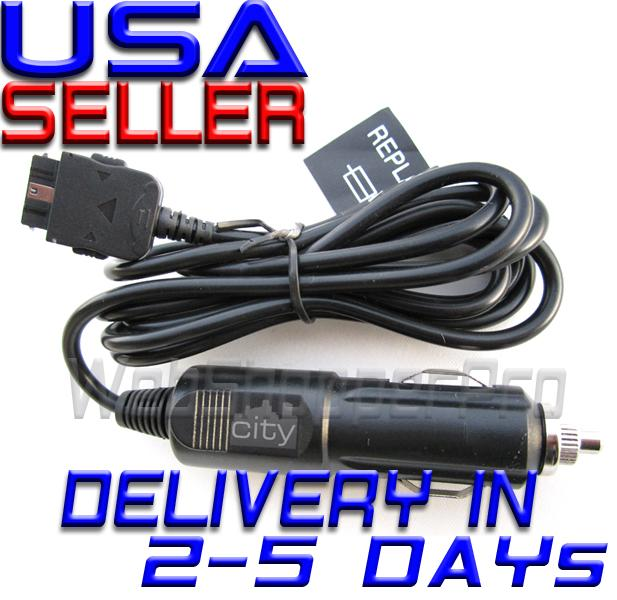 Garmin AERA 500 510 550 560 Vehicle Power Cable Charger