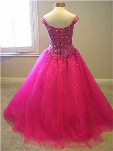 NWT Xcite quinceanera prom pageant formal tulle ball gown dress $405