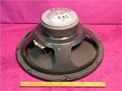 advent 85a 26 2202411 10 woofer speaker sounds great ebay. Black Bedroom Furniture Sets. Home Design Ideas