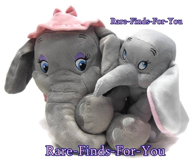 Disney Parks Baby Dumbo And Mother Mrs Jumbo Storybook