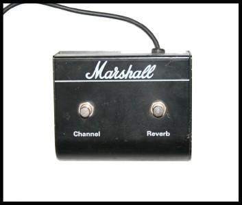 marshall amp valvestate 8080 guitar amp foot pedal ebay. Black Bedroom Furniture Sets. Home Design Ideas