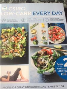 CSIRO LOW-CARB EVERY DAY 2 DIET GUIDE BOOK FOR WEIGHT LOSS ...
