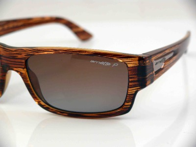 573679f8e3 Arnette Polarized Wager Sunglasses Havana Brown Grd New on PopScreen