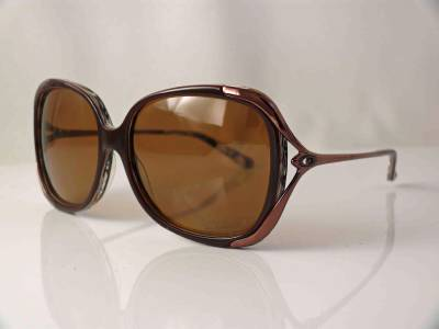89f99108f08 Details about OAKLEY POLARIZED SUNGLASSES CHANGEOVER CARAMEL SWIRL BRONZE  POLARIZED LENSES NEW