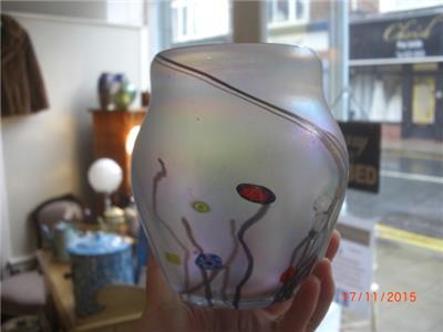 John Ditchfield Art Glass Vase Ebay