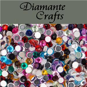 1000 diamante loose flat back rhinestone gems nail body