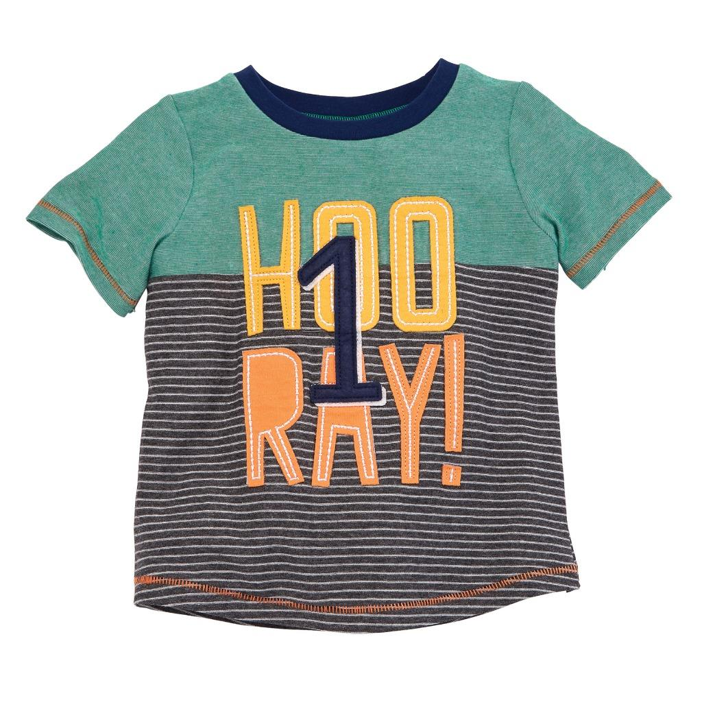Details About Mud Pie Kids Boys 1st Birthday 1 Hooray Party T Shirt