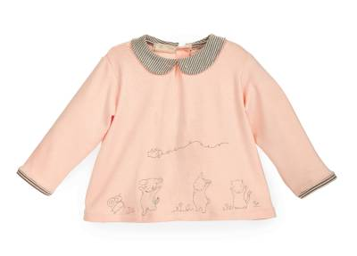 59ff33a7f40d Bunnies by the Bay Pretty Sweet Happy Top Pants Baby Girl Pink Set ...