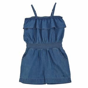 Mud Pie Little Girls Boathouse Baby Denim Romper Shorts Outfit 1132327 New