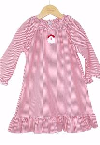 Sweet Dreams Girls Baby Christmas Striped Lightweight Nightgown Pajamas 9f5707389
