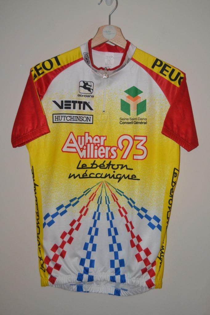 Details about RETRO MULTICOLOURED GIORDANA PEUGEOT CYCLING JERSEY MENS SIZE  MEDIUM - 3 - 48 99157a4b9