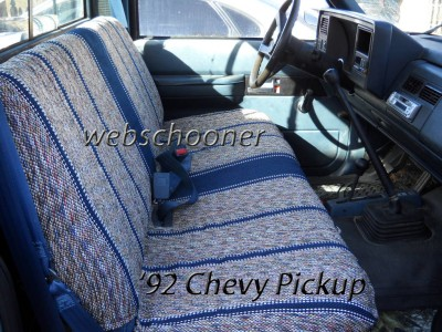 Truck Bench Seat Cover Saddle Blanket Burgundy 1pc Full Size Ford