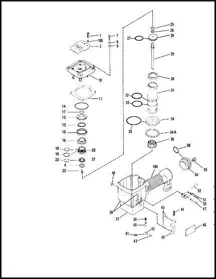Paslode 532580 Framing Nailer O Ring 402011 Seal Kit