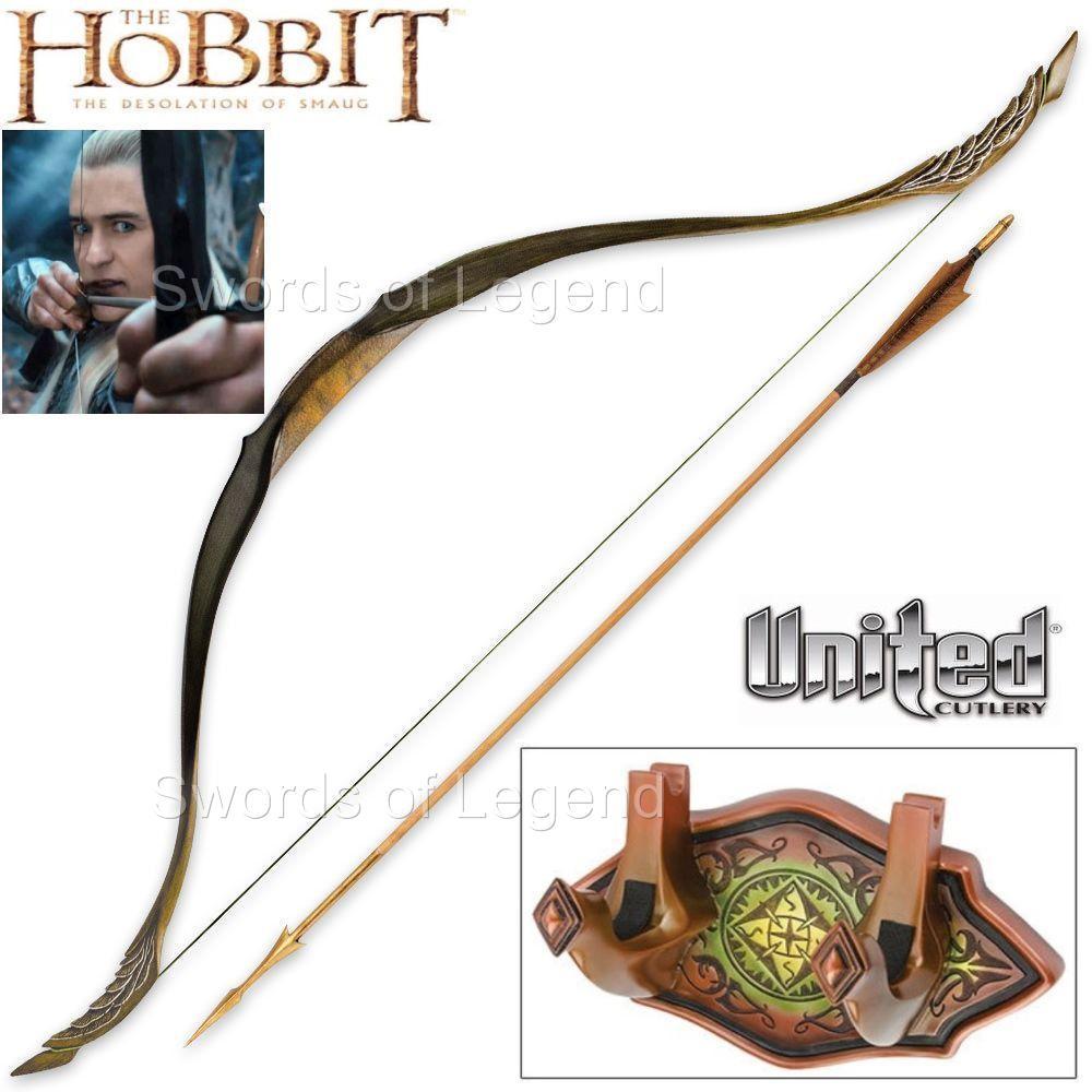 The Hobbit - Short Bow of Legolas Greenleaf - AstorDispatch   Legolas Greenleaf Bow