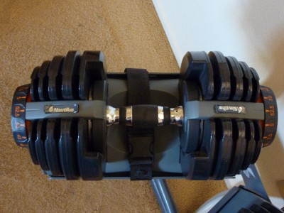 Nautilus Bowflex Selecttech 552 Adjustable Dumbbells 5 52