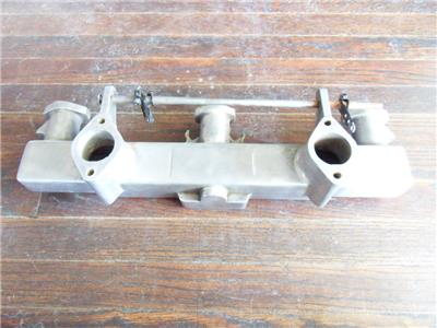 Details about Vintage Chevy 216 235 261 Fenton edmunds offy aluminum intake  manifold 2x1 6 Cyl