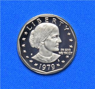 set ) 3 S DOLLARS 1979-1981 ANTHONY B  DOLLARS coin PROOF SUSAN