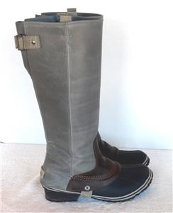 Free People Sorel Slimpack Tall Insulated Riding Boots Us