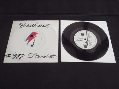 bauhaus ziggy stardust 1982 uk press 7 vinyl record single ex ex ebay. Black Bedroom Furniture Sets. Home Design Ideas