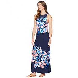 4163771a08 Tommy Bahama NWT LE TIGRE Floral Long Maxi Dress XL XLARGE (16)