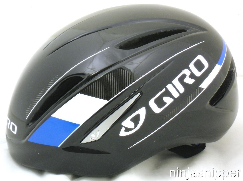 new giro air attack aero tri bike helmet blue black. Black Bedroom Furniture Sets. Home Design Ideas