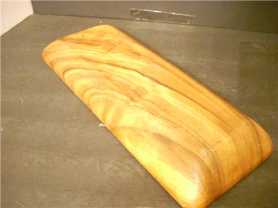 WOOD BREAD CRACKER SNACK PLATE DISH BOWL TRENCHER RECTANGULAR (51 ...