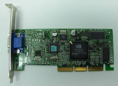 NVIDIA 180-10117-0000-B00 Video Card Agp 64Mb Dvi S-Video