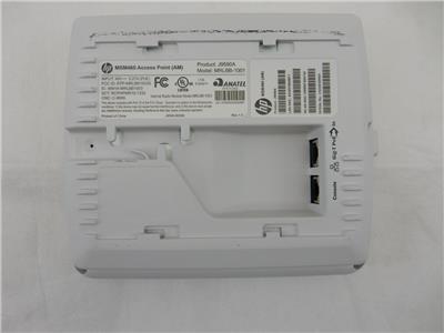 E-MSM430 Access Point  J9650A MRLBB-1001  w//BACK PLATE 10x HP MSM430 Grade A