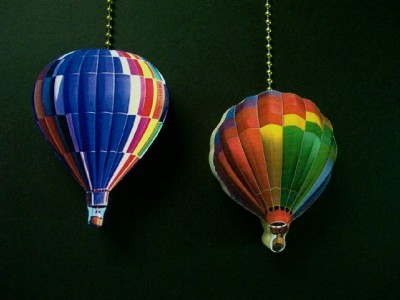 2 Hot Air Balloons Ceiling Fan Pulls Ebay