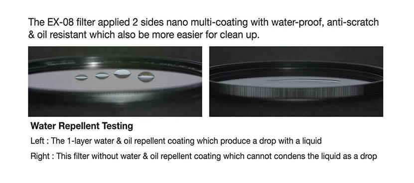 ProTama 72mm EX-08 L41 Ultra Slim Frame HD Nano Multi-Coated MC UV Cut Filter